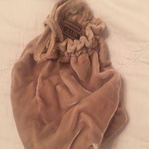 Small velvet a Prada wrist purse